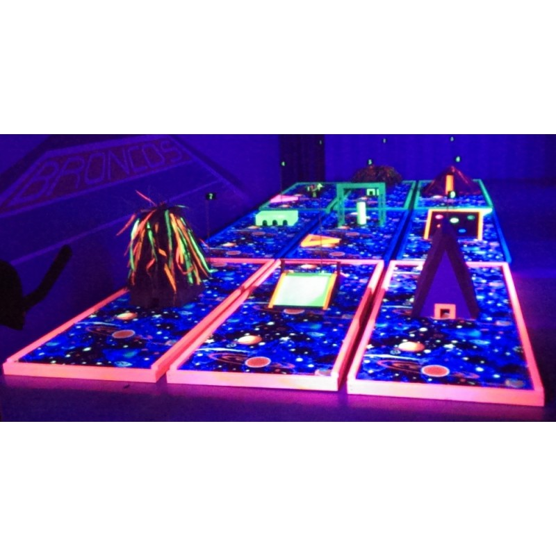MGBLP-002 Mini Golf Blacklight Package #2