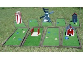 Mini Golf Course Set