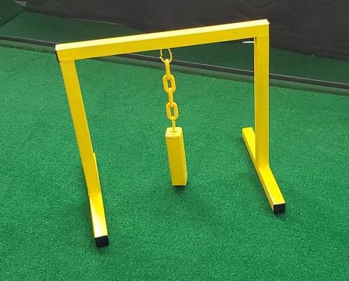 Metal Swinging Block