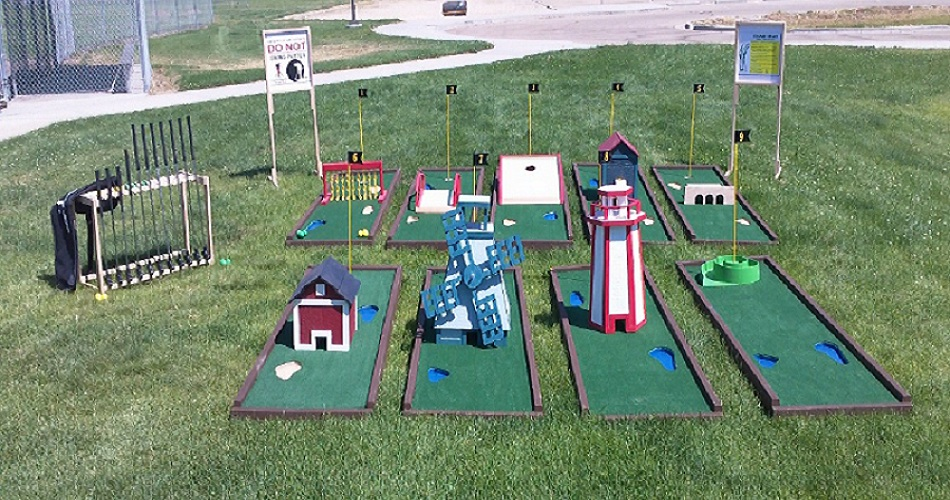 Amusement Wholesale Mini Golf Package #1