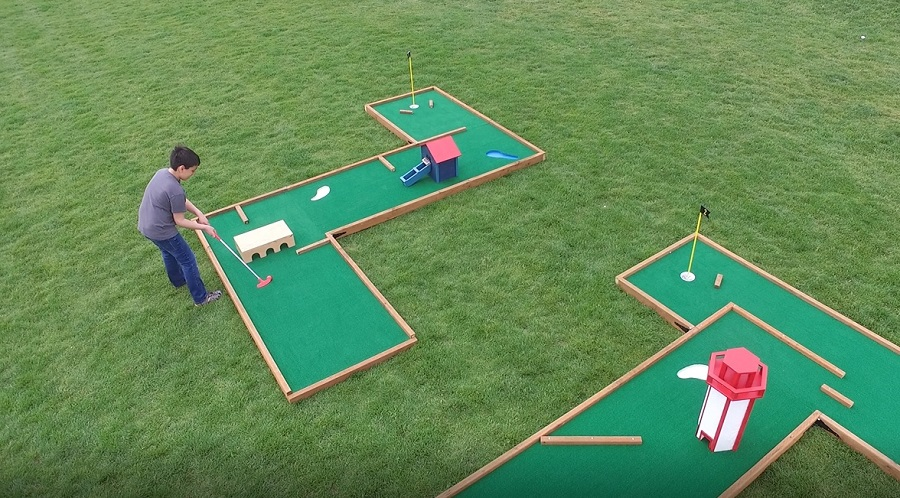 Mini Golf Set - Set up your own mini Golf course in the ... |Miniature Golf Set