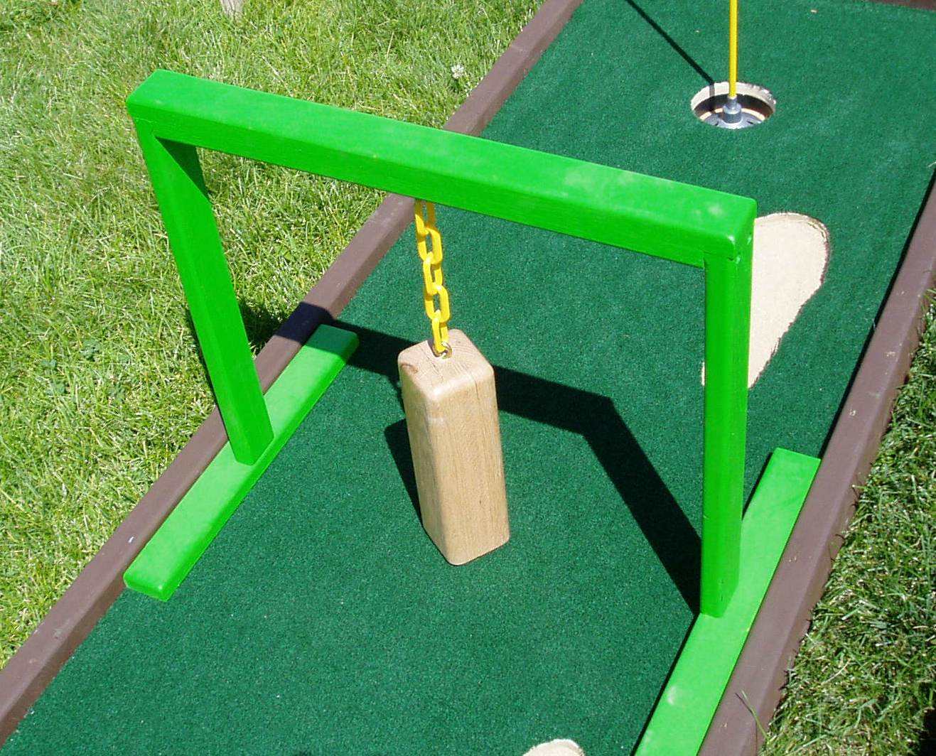 Swinging Block