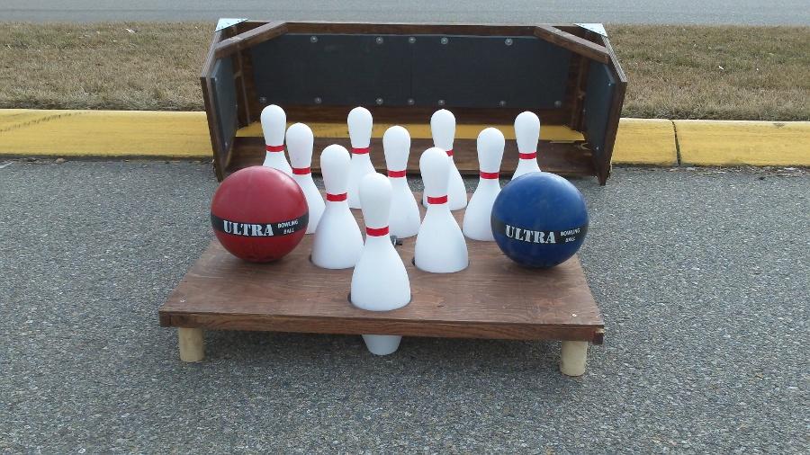 portable bowling balls