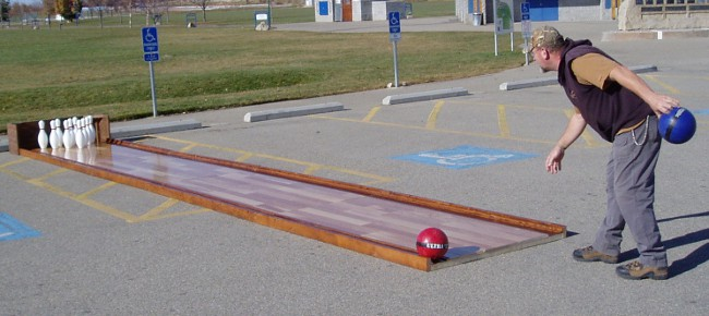 Portable Bowling Alley for Sale